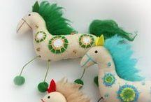 Horses, Zebras, Unicorns and Mules / by Wendi Gratz