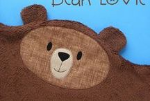 Bears / Art, illustration and craft featuring bears. So many adorable teddy bears!