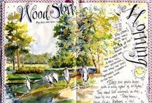 Art Journals: Nature and Garden / by Kelley *