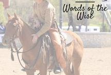 Horse Training / Consider this your one-stop shop for all things horse-training related. Whether you want tips for horse training on the ground or need help mastering tricky maneuvers from horseback, we have the horse-training help you're looking for.