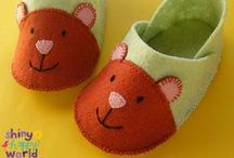 Fun with Felt / Felt patterns, tutorials and videos, plus links to my favorite tools and supplies.