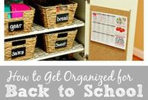 Back to School / 'Back to school' time is fast approaching - here's some inspiration on doing it in style!