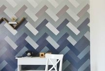 Paint tips and inspiration / DIY Paint or stain tips for furniture, walls, and craft art