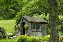 Gardening: Potting Sheds and Greenhouses / by Kelley *