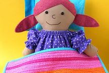 Rag Dolls and Doll Clothes / Links to sewing patterns for rag dolls and doll clothes - plus lessons and tutorials. Sign up for my newsletter for more tips and patterns. http://eepurl.com/-gx9L