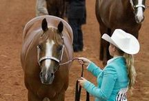 Horse-Showing Goals for the New Year / Try one of these New Year's resolutions horse-show competitors. / by American Quarter Horse Association (AQHA)