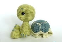 Turtles and Frogs / Art, illustration and craft featuring turtles and frogs and other cute critters.