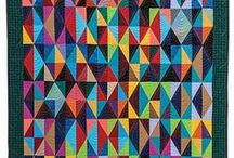Triangles, Diamonds and Pointy Shapes / Quilts, patterns, and other art and design using triangles, diamonds, and pointy shapes.