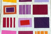 Squares and Rectangles / Quilts, patterns, and other art and design using squares and rectangles.