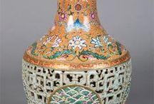 arte cinese-porcellane / porcellane antiche