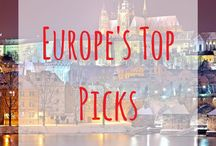 Europe top picks / Are you coming to Europe? If so then check out these beautiful places throughout Europe. European travel top picks | The top picks for Europe in travel | Spain | France | Germany | Iceland | Switzerland | Portugal | Canary Islands | Scotland | England | UK | Balearic islands | Ibiza | Fuerteventura | Slovakia | Croatia | Paris | London | Edinburgh | Inverness