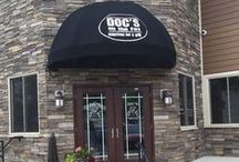 Places to Eat in Wisconsin / Doc's On The Fox | Steaks, seafood & cocktails served at a casual riverfront spot with a seasonal roof deck.