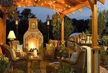 Outdoor Living / Things I would love for the perfect outdoor entertaining area