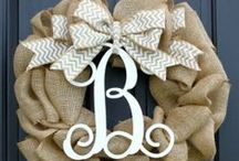 Front Door Decor / by Jessica Clock