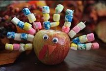 Thanksgiving Decor,food, Crafts