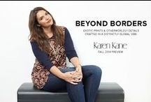 Karen Kane-Fall 2014 Preview / NEW COLLECTION TO LOOK FRESH FOR FALL  / by Gwynnie Bee