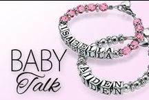 MNN does Baby Talk / Nothing fills our hearts quite like our little ones. Here we spread some love for all the babies in your world. Enjoy xoxo / by My Name Necklace