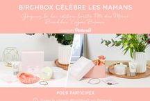Birchbox célèbre les mamans / A l'occasion de la fête des mères, Birchbox célèbre les mamans et vous donne l'occasion de gâter la femme la plus importante de votre vie.  Découvrez notre box fête des mères > http://birchbox.fr/fete-des-meres