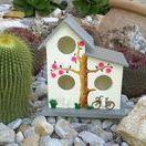 Nichoirs décorés // Casitas de pajaros J & N / Nichoirs décorés - Bird Houses - Casitas de pájaros J & N - fait main - hecho a mano - hand made -