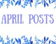 April Posts / Stay up to date with our Book Blog posts for the month of April 2017