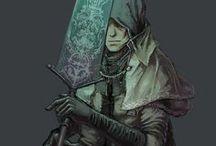 art || bloodborne | dark souls / game art