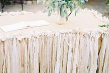 Wedding Theme: Shabby Chic / A little bit of country with frills.