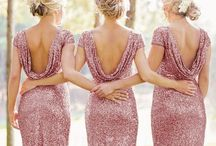 Wedding Style: Bridal Party / Outfits for the bridesmaid and groomsman that will make heads turn.