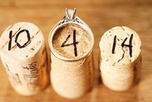 Wedding Theme: Magical Winery / Romantic vineyards with casual glam decor.
