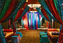 Wedding Theme: Arabian Nights / Arabian nights wedding  with vibrant colors and a Moroccan flair.