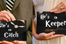 Wedding Theme: Harry Potter / A magical wedding day for the bride and groom that love the Harry Potter series.