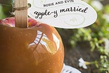 Wedding Theme: Falling in Love / There's nothing more romantic than the leaves falling in the autumn!