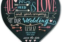 Wedding Ideas: Invitation / A variety of wedding invitations to match the look and feel of your wedding.