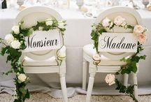 Wedding Theme: Parisian Inspired / Take flight to Paris with this romantic French inspired wedding theme.