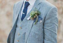 Wedding Style: Groom Suits / Tuxedo. Suit. Casual slacks. Somewhere in between.