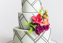 Wedding Ideas: Cakes and Sweets / Wedding cake designs from glamorous to kooky and everywhere in between. These look delicious!