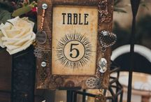 Wedding Theme: Steampunk / For the couple who wants to challenge tradition with industrial punk details.
