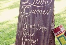 Wedding Theme: Day at the Lake / Remember summer camp by the lake? This wedding theme is like that but so much better...