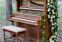 Wedding Theme: Music / For the couple who were brought together by their love of music.