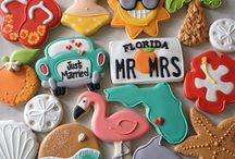 Wedding Theme: Florida / Throw a bright beachy wedding with a side of oranges and key lime pie.