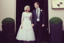 Wedding Theme: Mad Men / Mid century modern themed wedding ideas.