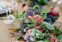 Wedding Theme: Farmers Market / From farm to table; for the couple that spends their weekends at the farmers market.