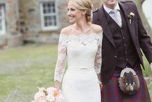 Wedding Theme: Scottish / Incorporate your Scottish heritage with these wedding ideas straight from Ireland.