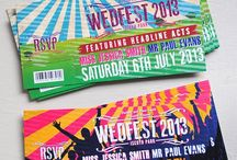 """Wedding Theme: Festival / Woodstock and Coachella wedding details for your very own """"Wedfest."""""""