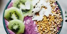 Healthy Snacks And Drinks / follow for healthy snacks, infused water, ect.