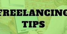 Freelancing Tips / It's time to start freelancing! Find pins on freelancing tips work at home, freelancing for beginners, freelancing full time, freelancing from home, freelancing for students, freelancing jobs, and freelancing ideas.