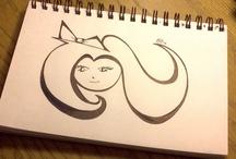my art/ diy stuff / some of my work from my blog / by Christine Eko