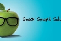 Snack Smart Solutions / Finding snacks that are simple, smart and satisfying.  Based off of the app Snack Smart Solutions #SnackSmart