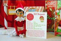 Christmas - Elf on a shelf! / Elf on the shelf ideas for our elf Jingles