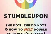 Social Media - Stumbleupon / learn about stumbleupon social media and how to use it.