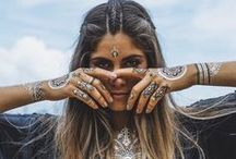 BOHO | Shopcade / Everything you need to perfect the boho & festival look this season. From bangles and lace to sandals and feathers, you'll find your inspo right here.